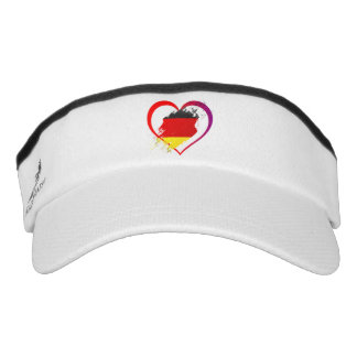 Germany heart visor