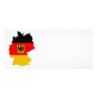 Germany map rack cards