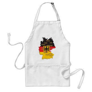 Germany Map Standard Apron