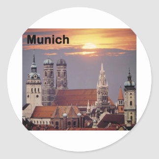 Germany Munich (St.K) Round Sticker