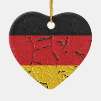 Germany Nation Europe Flag National Patriotism Ceramic Ornament