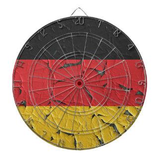 Germany Nation Europe Flag National Patriotism Dartboard