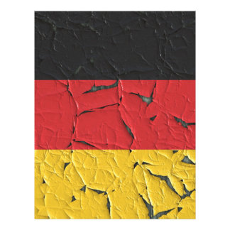 Germany Nation Europe Flag National Patriotism Letterhead