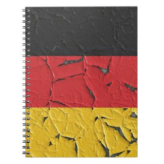 Germany Nation Europe Flag National Patriotism Notebook
