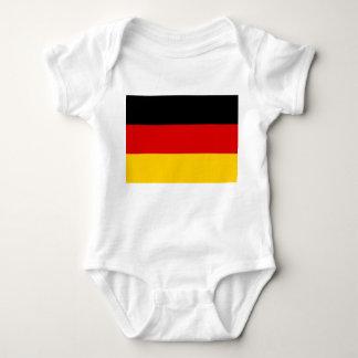 Germany National World Flag Baby Bodysuit