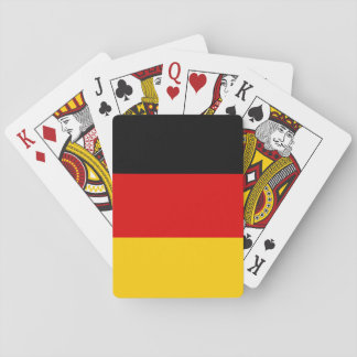 Germany National World Flag Playing Cards