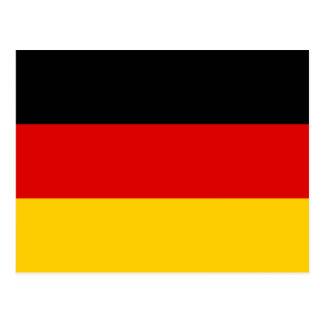 Germany National World Flag Postcard