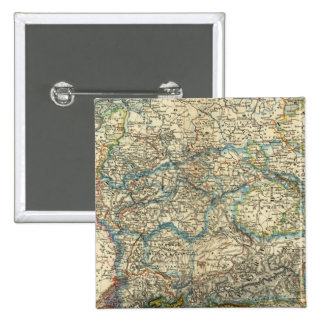 Germany Netherlands Belgium 2 Inch Square Button