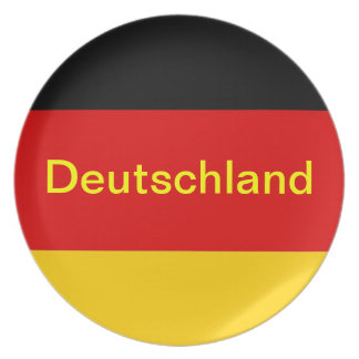 GERMANY PARTY PLATE