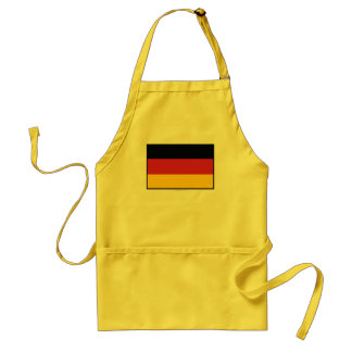 Germany Plain Flag Standard Apron
