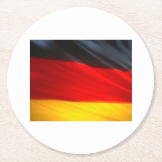 GERMANY ROUND PAPER COASTER