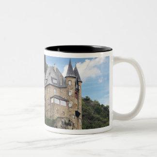 Germany, Sankt Goarshausen, Sankt Goarshausen Two-Tone Coffee Mug