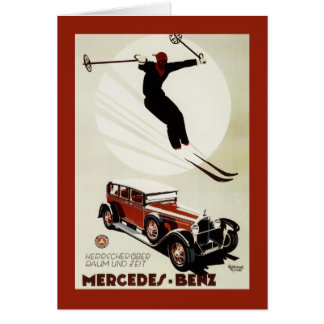 Germany - Skier Jumping Card