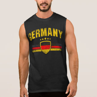 Germany Sleeveless Shirt