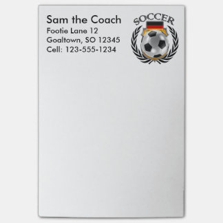 Germany Soccer 2016 Fan Gear Post-it Notes