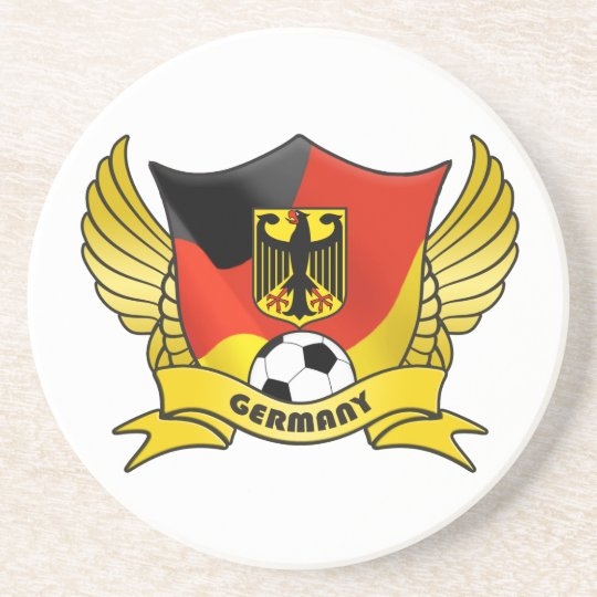 Germany Soccer Coaster