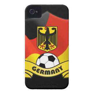 Germany Soccer iPhone 4/4S Case-Mate Barely There