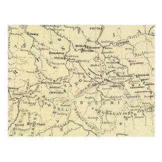 Germany, Switzerland, Holland Postcard