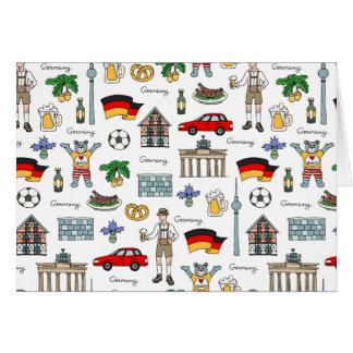 Germany | Symbols Pattern Card