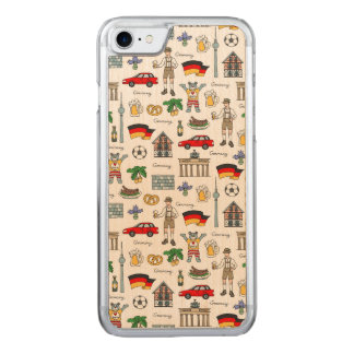 Germany | Symbols Pattern Carved iPhone 8/7 Case