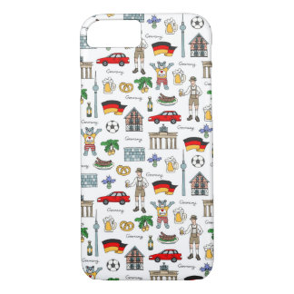 Germany | Symbols Pattern Case-Mate iPhone Case