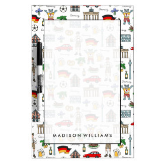 Germany | Symbols Pattern Dry-Erase Boards