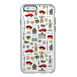 Germany | Symbols Pattern Incipio Feather® Shine iPhone 6 Case