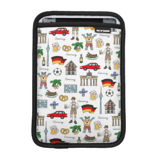 Germany | Symbols Pattern iPad Mini Sleeve