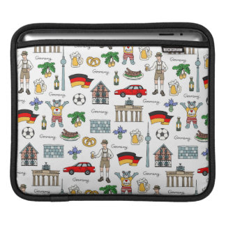 Germany | Symbols Pattern iPad Sleeve