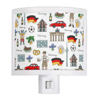 Germany | Symbols Pattern Nite Lights