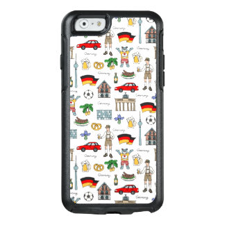 Germany | Symbols Pattern OtterBox iPhone 6/6s Case