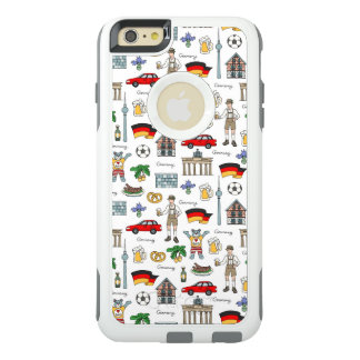 Germany | Symbols Pattern OtterBox iPhone 6/6s Plus Case