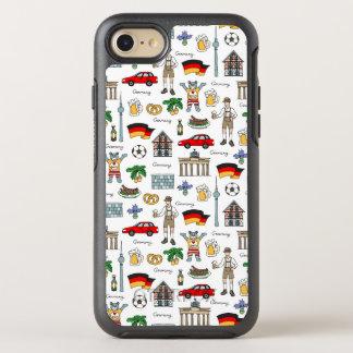 Germany | Symbols Pattern OtterBox Symmetry iPhone 8/7 Case