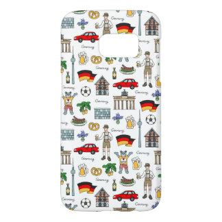 Germany | Symbols Pattern Samsung Galaxy S7 Case