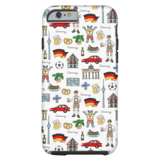 Germany | Symbols Pattern Tough iPhone 6 Case