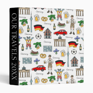 Germany | Symbols Pattern Vinyl Binders