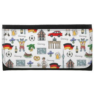 Germany | Symbols Pattern Wallets
