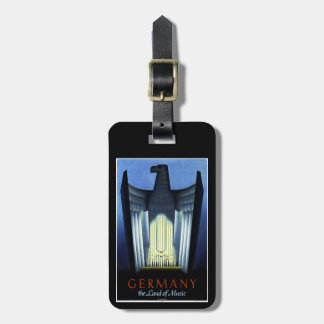 Germany Tourism Luggage Tag