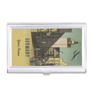 GERMANY Vintage Travel business card holder