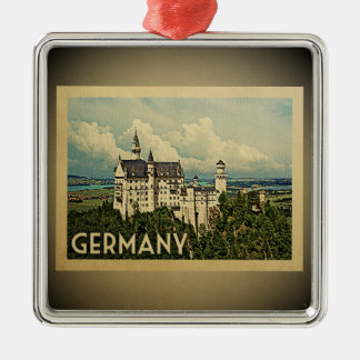 Germany Vintage Travel Ornament