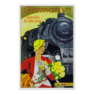 Germany Wants to See You Poster