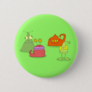 Germs 2 Inch Round Button