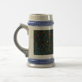 Germs  Abstract by Valxart.com 18 Oz Beer Stein