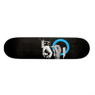 Germs Burn Custom Skateboard