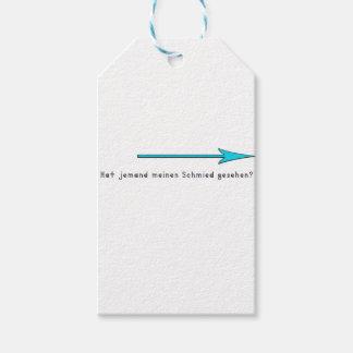 gernan-blacksnith pack of gift tags
