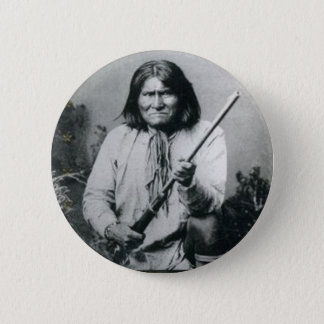 Geronimo 2 Inch Round Button