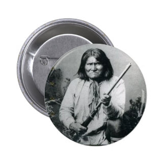 Geronimo 2 Inch Round Button