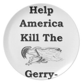 gerry party plate