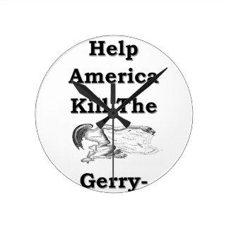 gerry round clock