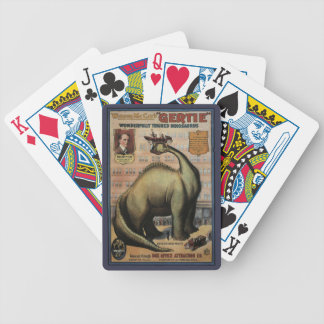 Gertie The Dinosaur Bicycle Playing Cards